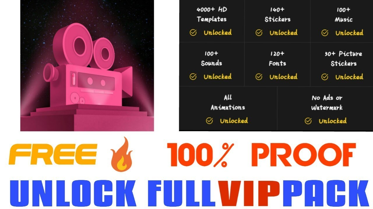 Intro Maker For Youtube Mod Apk Vip Unlocked