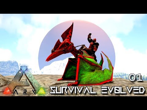 ARK: SURVIVAL EVOLVED - NEW AMAZING ADVENTURE BEGINS !!! E01 (MODDED ARK PUGNACIA DINOS)
