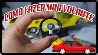 como fazer volante para miniaturas