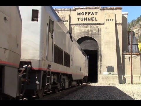 Emotional return to Moffat Tunnel