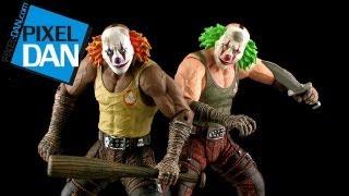 DC Collectibles Batman Arkham City Clown Thug Figure Video Review