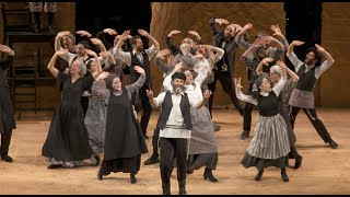 FIDDLER ON THE ROOF IN YIDDISH - Montage