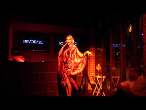 Courtney Act Performs at Revolver in Gay West Hollywood