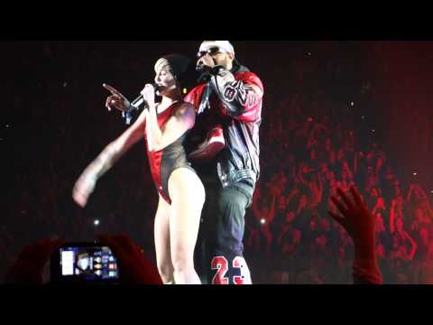 Bangerz Tour Atlanta Ga Miley Cyrus with Mike Will Made It