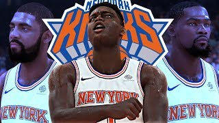 NBA 2K19 Zion MyCAREER #4 - Spinning Contact Dunk! DUNKED ON WESTBROOK & ADAMS!