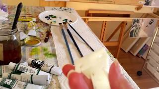 TIPS FOR ARTISTS - HOW TO MAKE A MAHL STICK (PART 1)