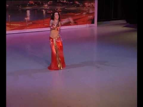 NOUR - EGYPTIAN BELLYDANCE STAR -  2010 May 14  in Festival in STOCKHOLM