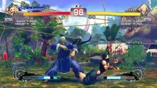 Ultra Street Fighter IV battle: Ibuki vs Gen
