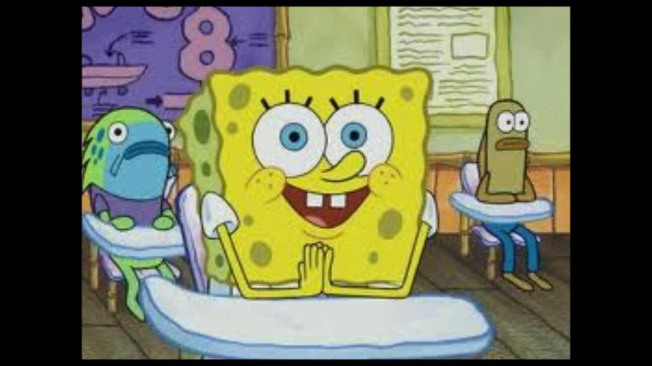 Spongebob naked funny faces