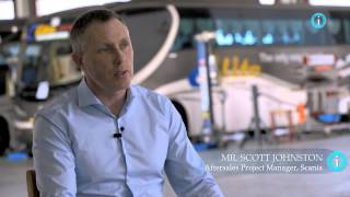 Interview with i-Profile: Mr. Scott Johnston, Aftersales Project Manager, Scania