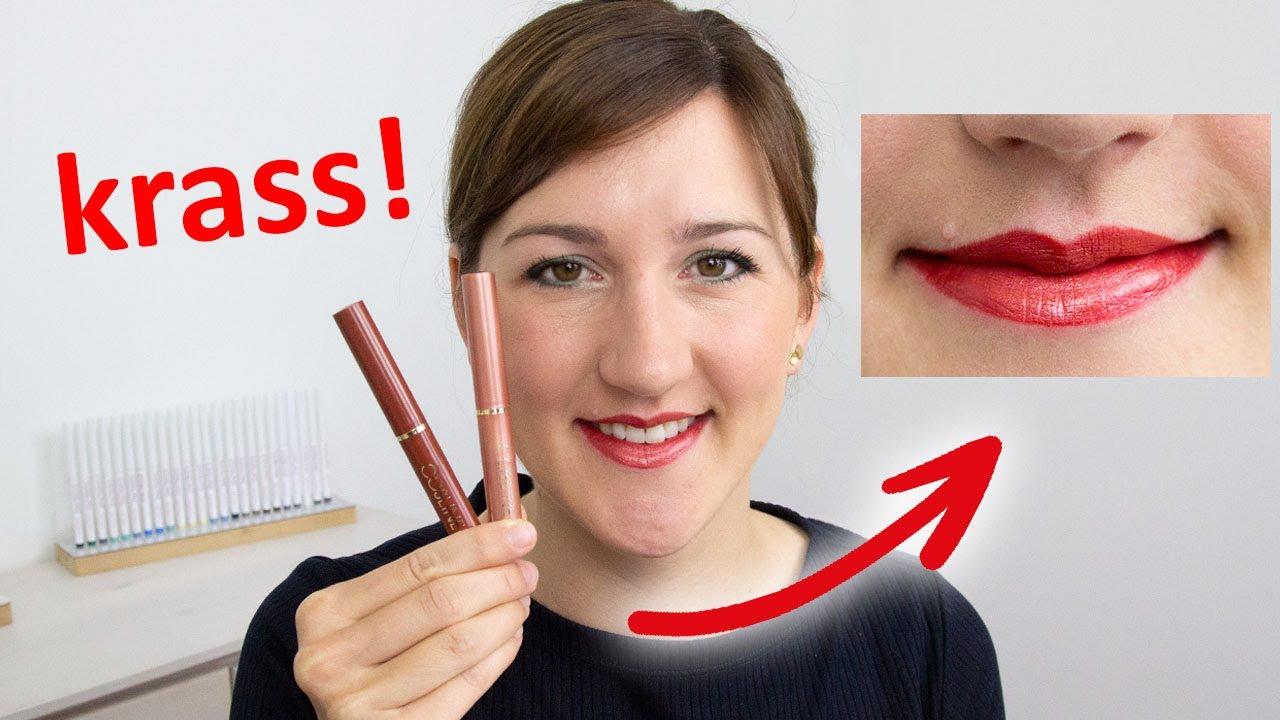 NIE MEHR unzufrieden mit deiner Lippenstift-Farbe! 💄