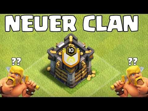 MEIN NEUER CLAN! ☆ Clash of Clans ☆ CoC