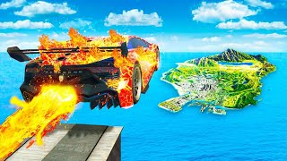 Download lagu Jumping ELEMENTAL FIRE CARS Across ENTIRE MAP In GTA 5..