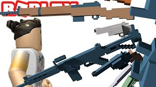 MASSIVE SPARA OUT IN ROBLOX GUN SIMULATOR