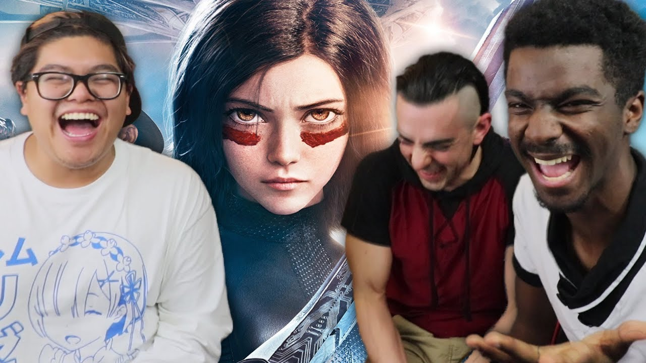 Alita Battle Angel Is An Action Comedy