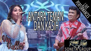 Download lagu RHOMA IRAMA & SONETA FT. VIA VALLEN - ANTARA TEMAN DAN KASIH (LIVE)