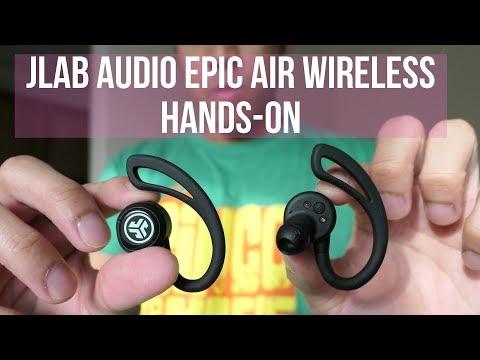 JLab Audio Epic Air Wireless hands-on: truly wireless Bluetooth earphones