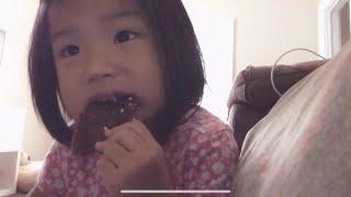 SOPHIA MAKES A VID | Eating beef jerky