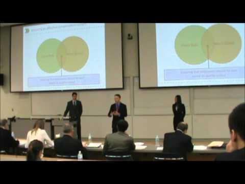 1st Place  |  International Business Case  |  UBC - Sauder School of Business |  JDC West 2012