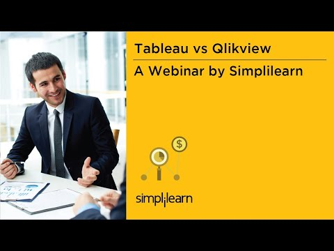 Which Data Visualization Software Is Better: Tableau Or QlikView   Simplilearn Webinar