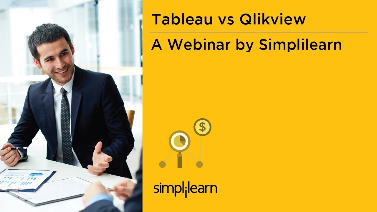 Which Data Visualization Software Is Better  Tableau Or QlikView     Which Data Visualization Software Is Better  Tableau Or QlikView    Simplilearn Webinar   YouTube