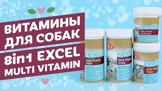 Витамины для собак  8in1 Excel Multi Vitamin обзор