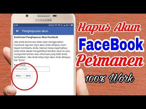 Cara Menutup Akun Facebook Secara Permanen Untuk Selamanya