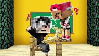 MİRAY SINIFTA ÇİŞ YAPTI! 😱 - Minecraft