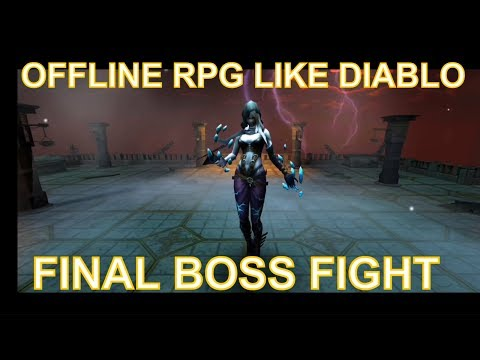 Arcane Quest Legends (offline Rpg Like Diablo) Final Boss Fight Ios And Android