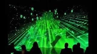 Infotech 2014 Opening Video Mapping Show in Mauritius
