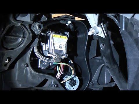 Xenon Bulb Replacement - BMW 328i - E92 Coupe