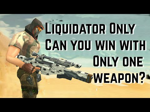 Featuring Liquidator Sniper Only - Can You win with only one Gun Guns of boom shooter aNdroid / iOS