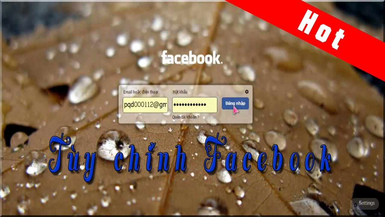 [Hot] Cách thay đổi giao diện Facebook trong 5p cực thú vị || Facebook theme.