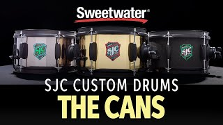 SJC Jam Can Side Snare Drums Demo