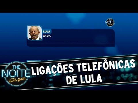 The Noite (17/03/16) - Ligações Telefônicas De Lula