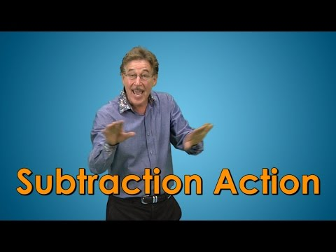 Subtraction Song for kids  Subtraction Facts  Subtraction Action  Jack Hartmann