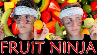 GOLF FRUIT NINJA - Jeppe Ølgaard og Jacob Pogel