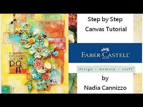 Gelatos Tutorial for Faber Castell Design Memory Craft Guest Design Team