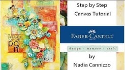 Gelatos Tutorial for Faber Castell Design Memory Craft Guest Design Team