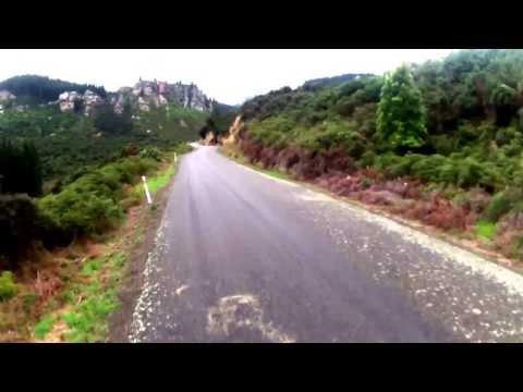 Cycling New Zealand east coast