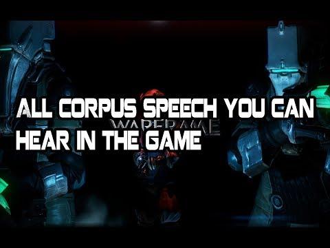 Warframe Corpus Enemies Speech During The Game Youtube