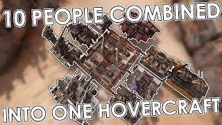 10 People combined into one hover - Crossout Fusion