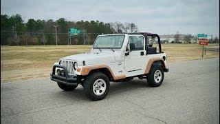 Davis AutoSports 2001 Jeep Wrangler Sport Pre-Listing / For Sale / Lifted & Modified