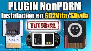Instalar Plugin NonPDRM en SD2VITA/SDVITA TUTORIAL FACIL