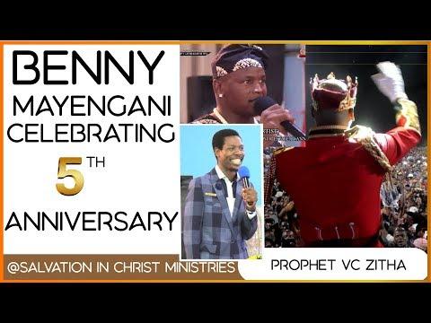 BENNY MAYENGANI CELEBRATING SALVATION IN CHRIST MINISTRIES 5 YEAR ANNIVERSARY.