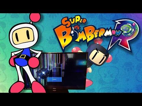 The Ballistic Bomberman Broken TV Rage - SUPER BOMBERMAN R GAMEPLAY |