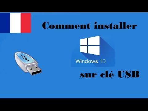 fr comment installer windows 10 depuis une cle usb youtube. Black Bedroom Furniture Sets. Home Design Ideas