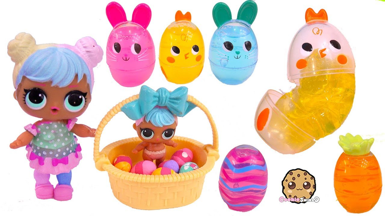 Lol Surprise Easter Egg Hunt Goo Putty Shopkins Eggs