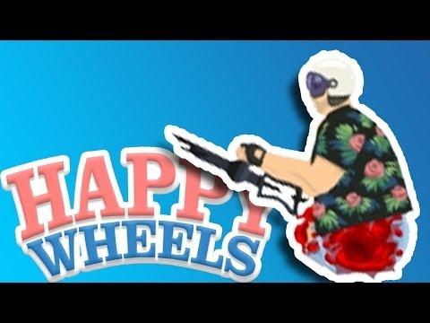 Игра Счастливые колеса онлайн Happy Wheels играть