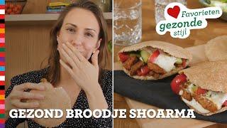 Gezond broodje shoarma   Favorieten Gezonde Stijl   Gezond recept   Voedingscentrum